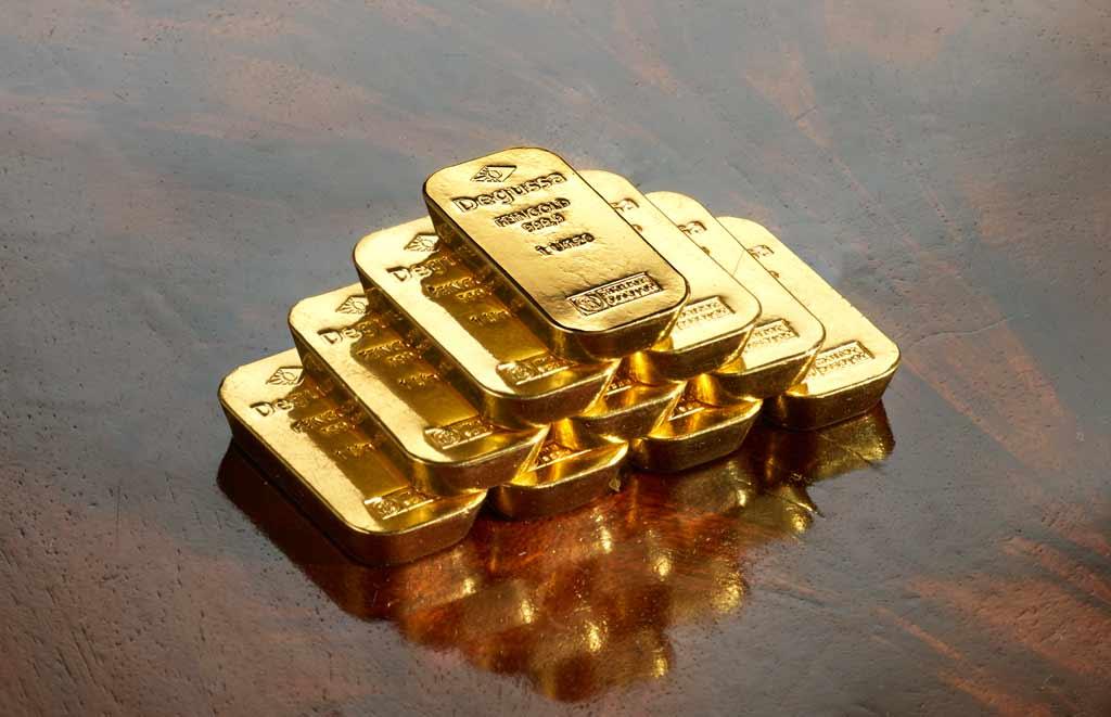 Degussa Metales Preciosos oro asombro