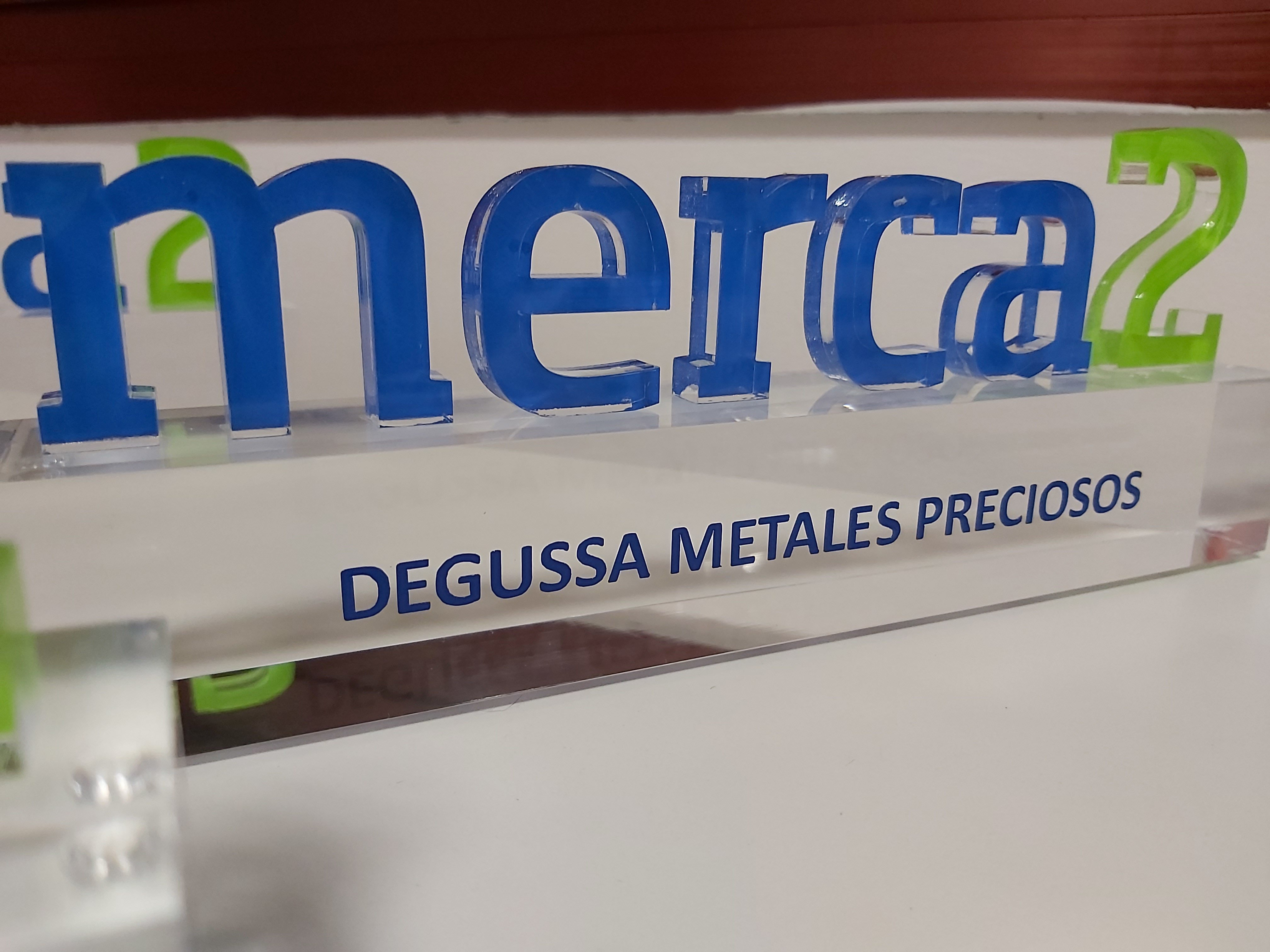 Premios Merca2.es a Degussa como la Alternativa de Inversion 2019